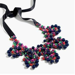 J. Crew Sequined/Beaded Necklace - Never Worn